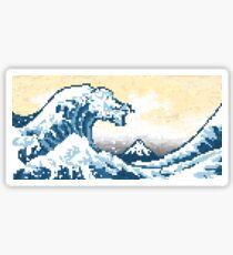 The G8-Bit Wave Sticker