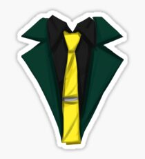 Lupin III - Forest Green Sticker