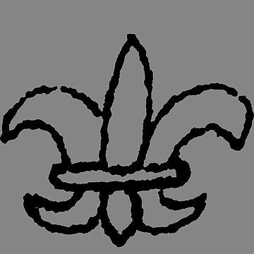 Fleur De Lis Sketch by londonlew