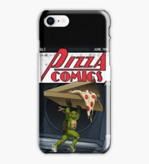 Pizza Comics - Featuring Michelangelo iPhone Case/Skin