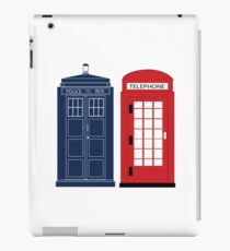 Dr. Who Phone Booth iPad Case/Skin