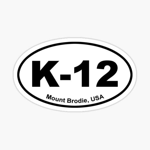Euro-style K-12  Sticker