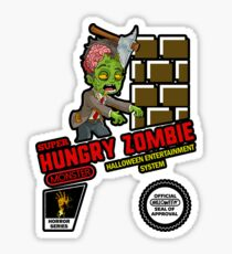 Super Hungry Zombie! Sticker