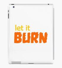 buffy - let it burn iPad Case/Skin