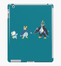 Piplup Evolution iPad Case/Skin