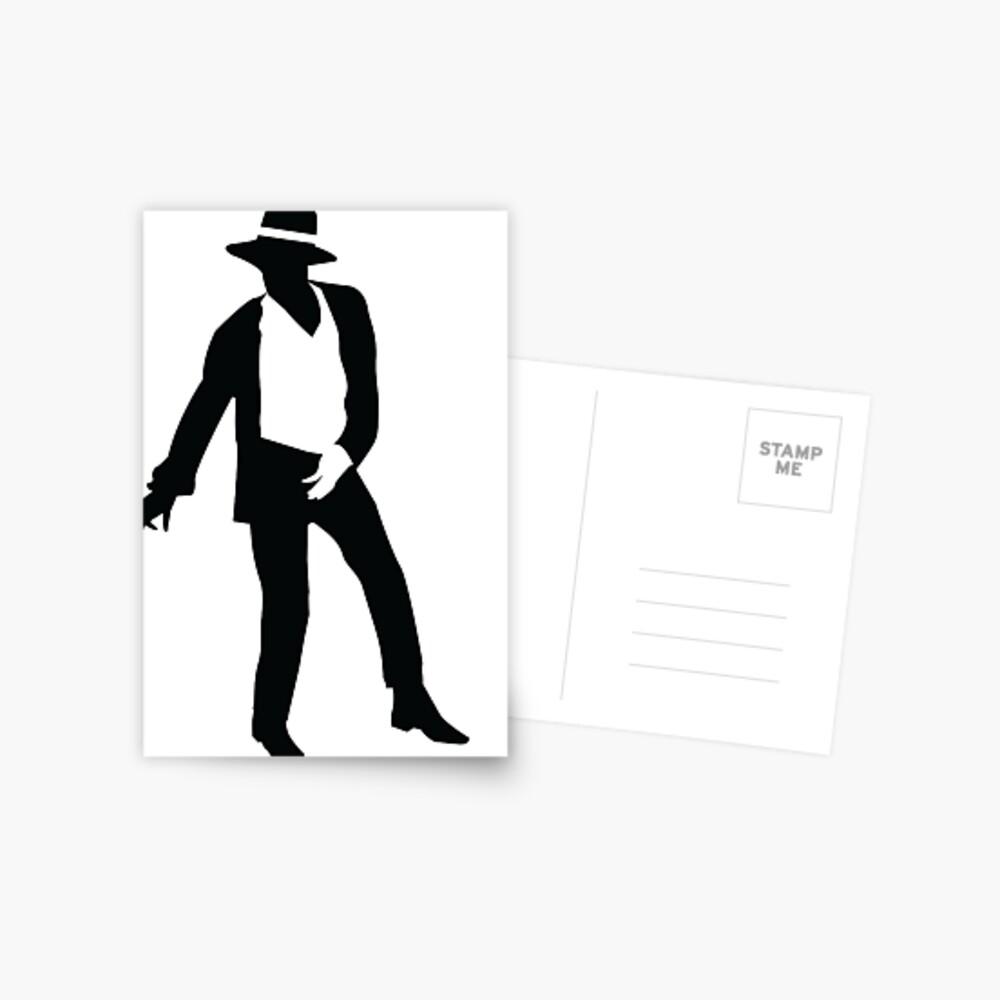 Michael Jackson Postkarte