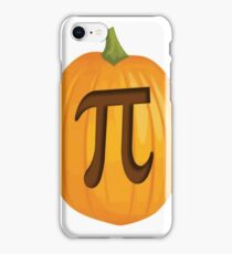 Halloween Pumpkin Pie Pi iPhone Case/Skin