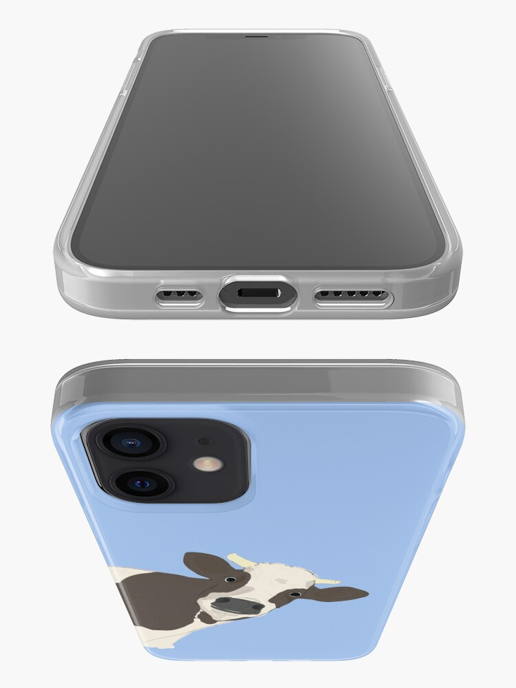 Alternate view of Cow iPhone Case & Cover