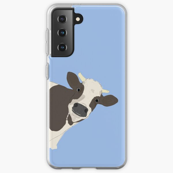 Cow Samsung Galaxy Soft Case