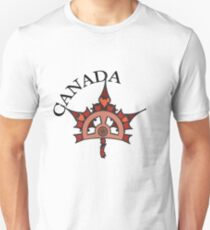 Steampunk Canadian Maple Leaf T-Shirt