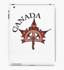 Steampunk Canadian Maple Leaf iPad Case/Skin