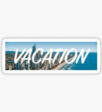 Vacation Sticker Sticker