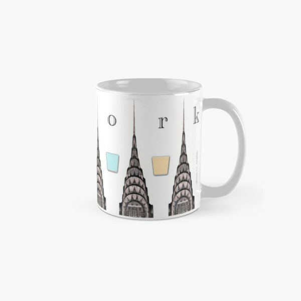 Chrysler Building with Color Elements Classic Mug