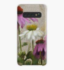 Komplett • Blumenmalerei von Rebecca Finch Hülle & Klebefolie für Samsung Galaxy