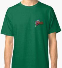 Legend of Zelda: Ocarina of Time Logo Classic T-Shirt