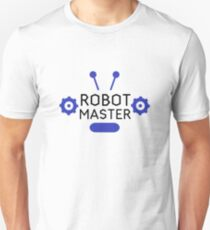 Robot Master  Robotics Engineering Program Streamm T-Shirt