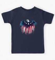 American Flag Bald Eagle: Red, White & Blue  Kids Clothes