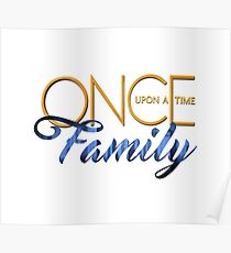 Once Upon A Time Family Poster