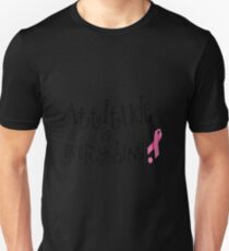 Attitude is Everything Breast Cancer Awareness T-Shirt