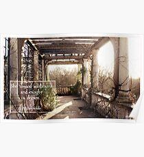 Travel London Faerie Garden Digital Photography Poster