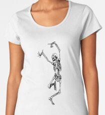 skeleton Women's Premium T-Shirt