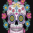 Dia de los Muertos Sugar Skull by Julianco
