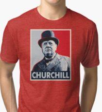 Winston Churchill Tri-blend T-Shirt