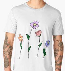 Four Flowers Men's Premium T-Shirt