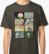 Rick and Morty collage Classic T-Shirt