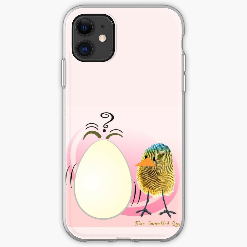 Two Scrambled Eggs iPhone Case & Cover