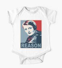 Body de manga corta para bebé Ayn Rand