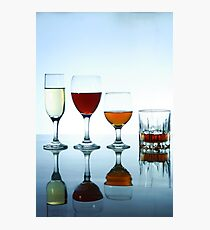 Alcoholic drinks Photographic Print