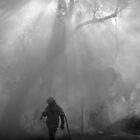 Lone fighter by Dean Symons