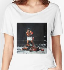 Muhammad Ali verprügelt Sonny Liston Loose Fit T-Shirt