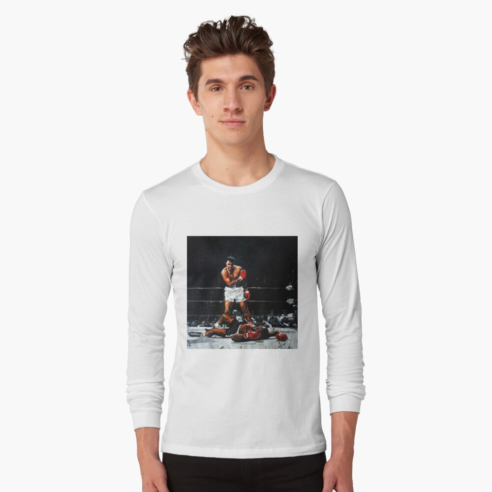 Muhamad Knocks Out Sonny Liston Shirts For Men Women Fathers Day T Shirts Unisex T-Shirt Ali