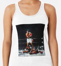 Muhammad Ali Knocks Out Sonny Liston Racerback Tank Top