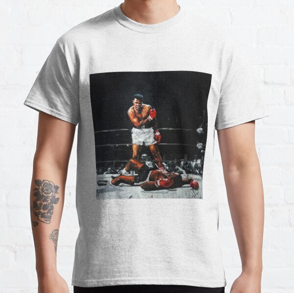 Muhammad Ali Knocks Out Sonny Liston Classic T-Shirt