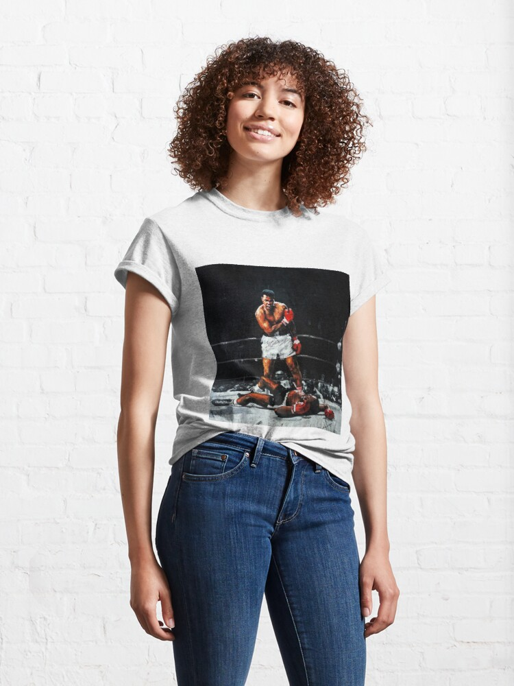 Alternate view of Muhammad Ali Knocks Out Sonny Liston Classic T-Shirt