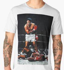 Muhammad Ali Knocks Out Sonny Liston Men's Premium T-Shirt