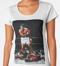 Muhammad Ali Knocks Out Sonny Liston Women's Premium T-Shirt