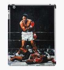 Vinilo o funda para iPad Muhammad Ali noquea a Sonny Liston