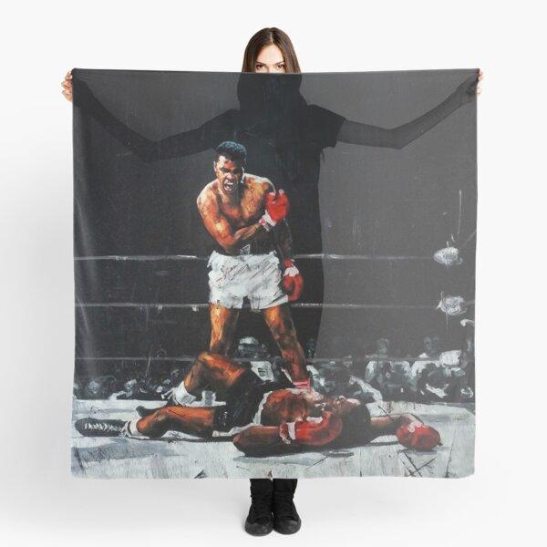 Muhammad Ali Knocks Out Sonny Liston Scarf