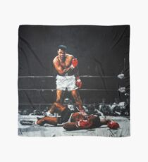 Muhammad Ali Knocks Out Sonny Liston Scarf