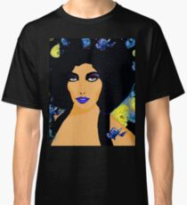 HAIR FLOWERS AND BUTTERFLIES Classic T-Shirt