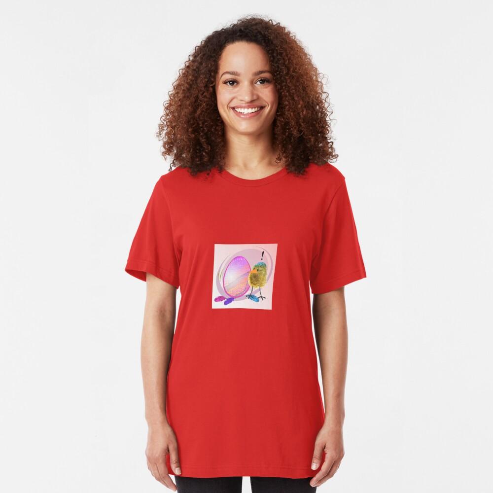 Two Scrambled Eggs - EGGsuberant Slim Fit T-Shirt