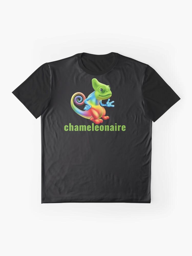 Vista alternativa de Camiseta gráfica Chameleonaire