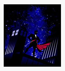 the doctor under star Photographic Print
