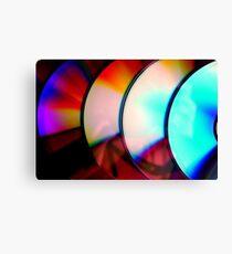Compact Discs Canvas Print