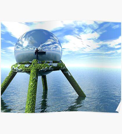 Ocean Orb Poster