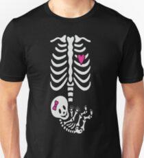 Gladditudes Maternity Skeleton Tshirt (girl) T-Shirt